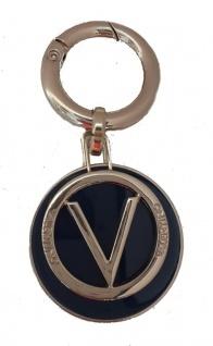 Valentino Bags Taschenanhänger / Schlüsselanhänger, blau/gold