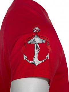 Emporio Armani T-Shirt Anchor rosso, 111231 6P502 - Vorschau 3