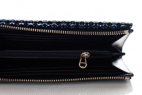 Aigner Fashion Geldbörse, Metallic Look, 156133 Deep Blue - Vorschau 3