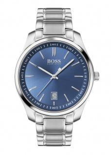 Hugo Boss Herren Uhr Circuit Edelstahl Silber, 1513731