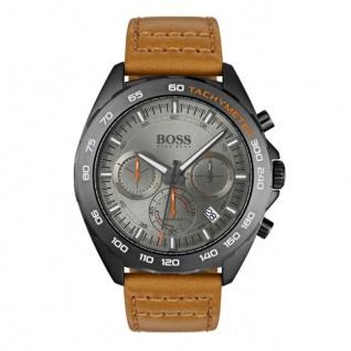Hugo Boss Herren Uhr Intensity Leder braun, 1513664