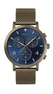 Hugo Boss Herren Uhr Spirit - Casual Edelstahl Khaki, 1513693