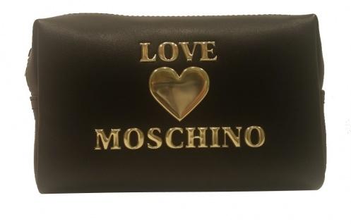 Love Moschino Kosmetiktasche, Schwarz