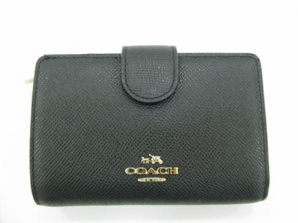 Coach Portemonnaie medium, Schwarz 52336