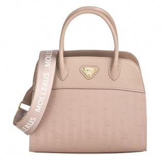 Maison Mollerus Vinerus Rose Handtasche, Yens Gold