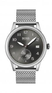 Hugo Boss Herren Uhr Legacy Edelstahl, 1513673