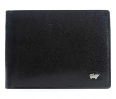 Braun Büffel Portemonnaie Gaucho Secure, schwarz 33119S