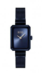 Hugo Boss Damen Uhr Whisper Edelstahl blau, 1502433