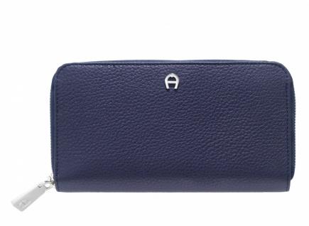 Aigner Portemonnaie groß, 156584 dunkelblau