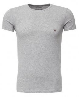 Emporio Armani, Crew Neck T-Shirt grau 111035 6P725 Größe XXL