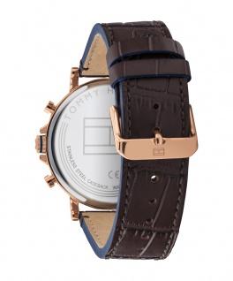 Tommy Hilfiger Herren Uhr Daniel- Dressed Up Leder Braun, 1710418 - Vorschau 3