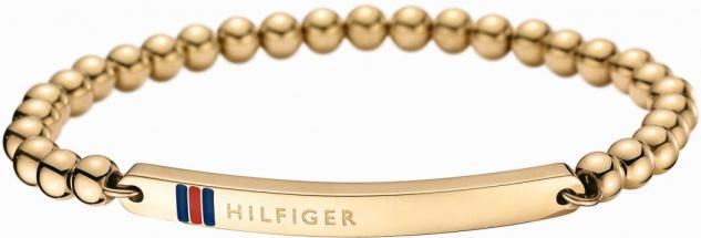 Tommy Hilfiger Damen Armband Edelstahl, Gold 2700787