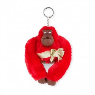 Kipling Taschenanhänger / Schlüsselanhänger XL Monkey, rot