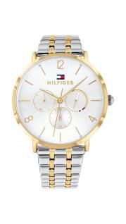 Tommy Hilfiger Damen Uhr Jenna- Casual Edelstahl Silber/Gold, 1782032