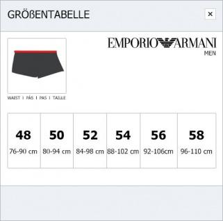 Emporio Armani Stretch Cotton Trunk, beige mit Logoprint, 111290 - Vorschau 3