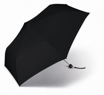 Happy Rain Taschenschirm Slimline uni einfarbig, 43999