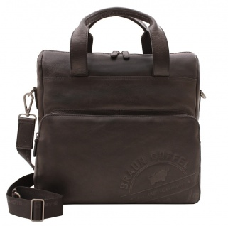 Braun Büffel Messenger Bag Parma LP Schwarz, 57268