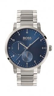 Hugo Boss Herren Uhr Oxygen Edelstahl, 1513597