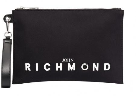 John Richmond Clutch Okland, Schwarz