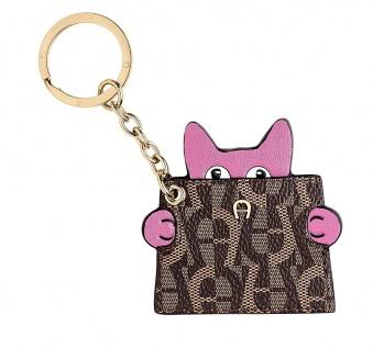 Aigner Schlüsselanhänger Katze, Blossom Pink 181121