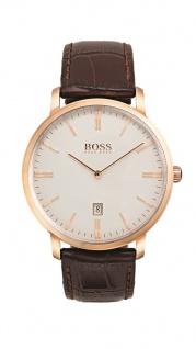 Hugo Boss Herren Uhr Tradition Leder braun, 1513463