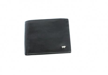 Braun Büffel Geldbörse Gaucho Querformat schwarz, 33155