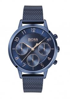 Hugo Boss Damen Uhr Vivid Edelstahl Blau, 1502509