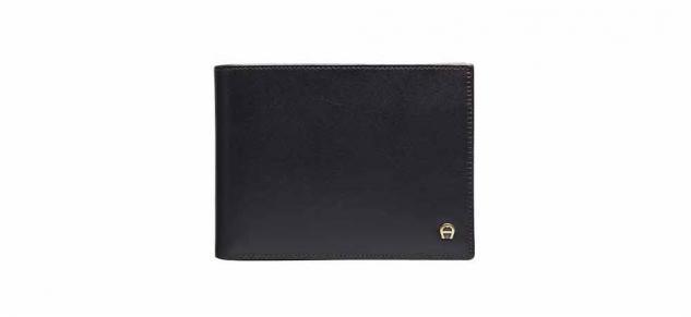 Aigner Portemonnaie 152673, Querformat schwarz - Vorschau 2