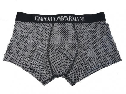 Emporio Armani Basic Stretch Cotton Trunk, Schwarz 111389 Gr. S