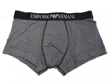 Emporio Armani Basic Stretch Cotton Trunk schwarz, 111389 Größe S