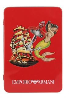 Emporio Armani Trunk Seemannsprint, bianco stampato Größe M - Vorschau 3