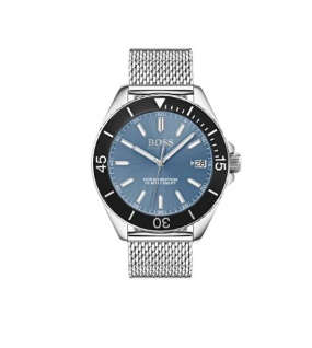 Hugo Boss Herren Uhr Ocean Edition Edelstahl, 1513561