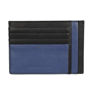 Versace Jeans Kartenetui, Schwarz, Blau E3YRBPC4