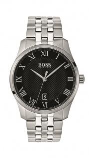 Hugo Boss Herren Uhr Master Edelstahl, 1513588