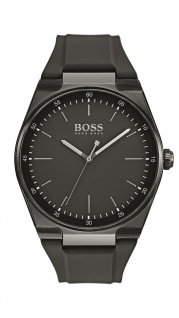 Hugo Boss Herren Uhr Magnitude Silikon schwarz, 1513565