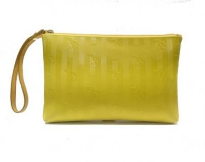 Maison Mollerus Vinerus Lemon Clutch / Kosmetiktasche Camoghe Gold