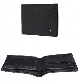 Aigner Portemonnaie 152796 Querformat schwarz