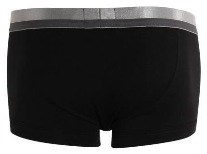 Emporio Armani, Stretch Cotton Trunk schwarz / silber-grau-S - Vorschau 2
