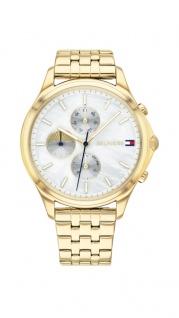 Tommy Hilfiger Damen Uhr Whitney- Casual Edelstahl Gold, 1782121