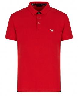 Emporio Armani Herren Polo Shirt, Papavero 211804