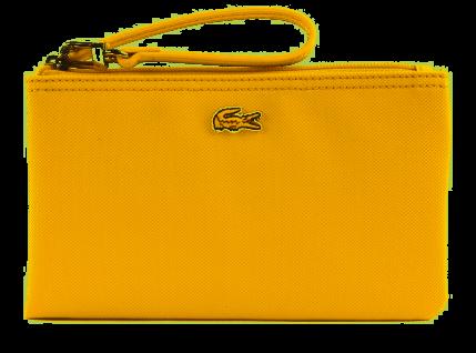 Lacoste Concept Clutch, Gelb