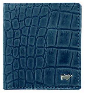 Braun Büffel Geldbörse Lisboa Carré Jeans / Blau, 69140