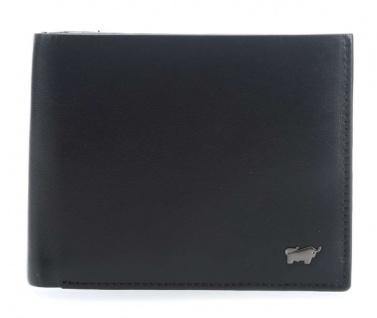 Braun Büffel Geldbörse Q Livorno schwarz, 67135