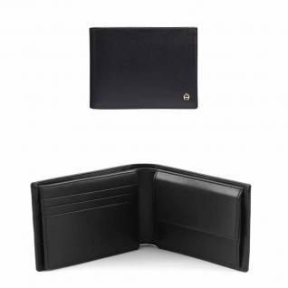 Aigner Portemonnaie 152673, Querformat schwarz - Vorschau 1