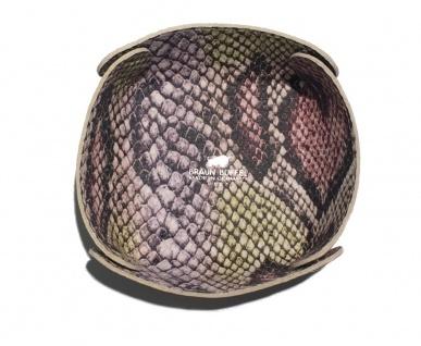 Braun Büffel Taschenleerer Schlangenlederprägung, 40912