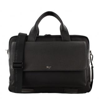 Braun Büffel Businesstasche Murano schwarz, 14372