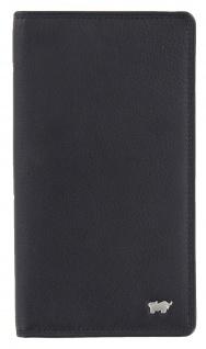 Braun Büffel Brieftasche Golf Edition Schwarz, 90445