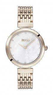 Hugo Boss Damen Uhr Celebration - Business Edelstahl Roségold, 1502480