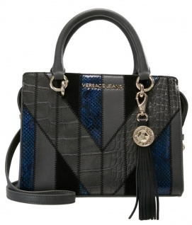Versace Jeans Handtasche Dunkelgrau, E1VSBBP4