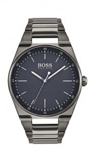 Hugo Boss Herren Uhr Magnitude Edelstahl grau, 1513567